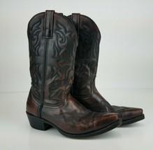 Laredo Men's Hawk Western Boots 6862 Size 8D Brown Leather Cowboy 0128 - $38.69
