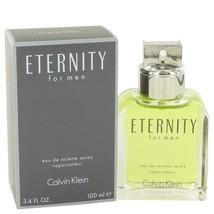 Eternity By Calvin Klein Eau De Toilette Spray 3.4 Oz - $37.99