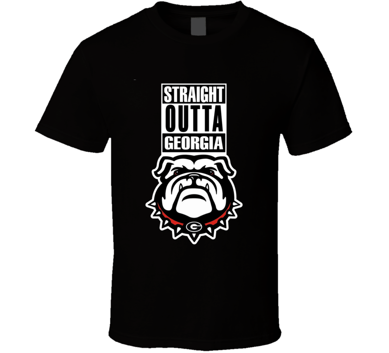Primary image for Straight Outta Georgia Compton Style College Football National T Shirt