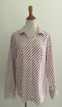 Talbots Button Front Shirt sz 20 - $24.74