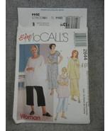 Womens 18W-24W  Dress or Top Pull on skirt or Capri Pants McCalls 2644 U... - $8.00