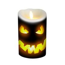 Darice Flameless Decor Jack-O-Lantern Candle Wrap: Black, 3.5 x 5 inches... - $12.99