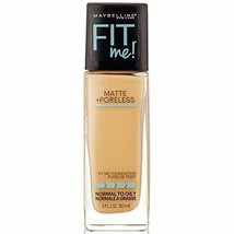 Maybelline New York Fit Me Matte with Poreless Foundation,220 Natural Be... - $14.73