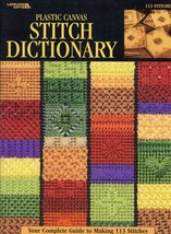 Plastic Canvas Stitch Dictionary PATTERN/INSTRUCTION Booklet LA1762 113 ... - $9.87