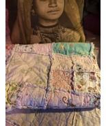 ADORABLE Vintage Patchwork Baby Blanket - $22.77