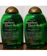 OGX Organix Bamboo Fiber Full Shampoo 2 Bottle Set Strength Body - $20.00