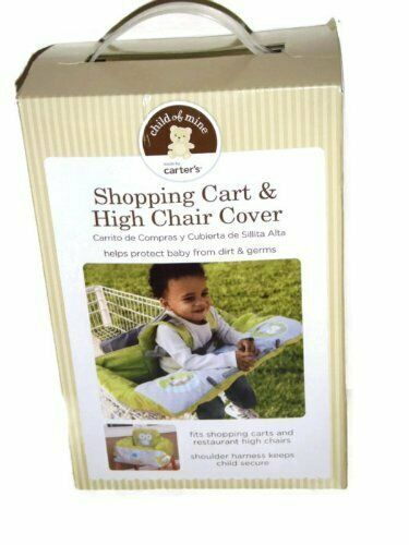 Primary image for Infant / Baby Shopping Cart & High Chair Cover By Carter's, Owl Pattern, Unisex
