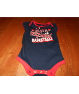 NBA Official 0-3M Washington Wizards Baby Infant Girls Creeper Bodysuit NEW - $9.89