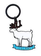Metal Key Ring Deer Pendant Key Chain - $15.26