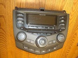 03 04 05 06 07 HONDA ACCORD OEM 6disc CD Radio Player 7BY0 DUAL Climate ... - $159.99