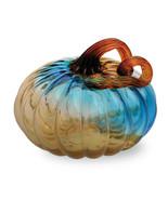 Gallery Glass Pumpkins Small Glass Pumpkin - Blue by Boston International - $44.50