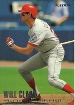 1996  Fleer Texas Rangers Complete Set 1-20 - $1.50