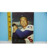 1971 Jim Lefebvre Los Angeles Dodgers Baseball Card & Team Schedule HTF - $14.84