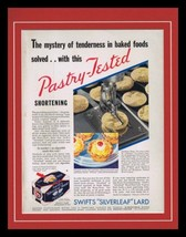 1932 Swift's Silverleaf Lard Framed 11x14 ORIGINAL Vintage Advertisement - $55.74