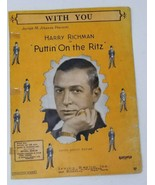White Cliffs of Dover Dorsey With You Puttin on the Ritz Richman 1930s 1... - $6.92