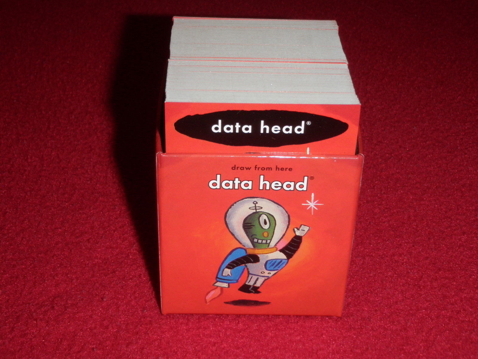 Primary image for 2008 Cranium Board Game Replacement Word Data Head Red Deck ONLY