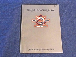 1986 New York Mets MLB Baseball Yearbook Special 25th Anniversary Edition - $13.99