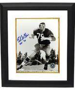 Bob St. Clair signed San Francisco 49ers Vintage Sepia 8x10 Photo Custom... - $78.95