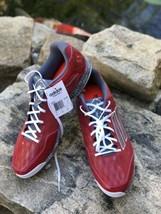 New Adidas Men Sz: 16 Power Alley 2 RED & Gray Baseball Shoe Metal Cleats NWOB - $25.83
