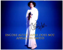 CARRIE FISHER  Authentic Original  SIGNED AUTOGRAPHED PHOTO w/ COA 1778 - $105.00