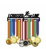 Creative I Cruzado La Línea Pantalla Soporte Metal Medallas Colgador Correr - $33.54