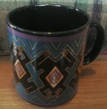 Laurel Burch Mug Folkloric Frogs Funky - $19.30