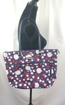 Tommy hilfiger tote floral multicolor zipper fly weekender women  NWT - $52.24
