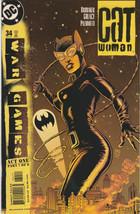 Catwoman #34 NM- 2004 DC Comics Ed Brubaker Palmiotti 3rd vol War Games ... - $2.27