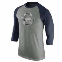Penn State Nittany Lions Nike Historical Vault Tri-Blend XL Raglan T-Shi... - $34.00