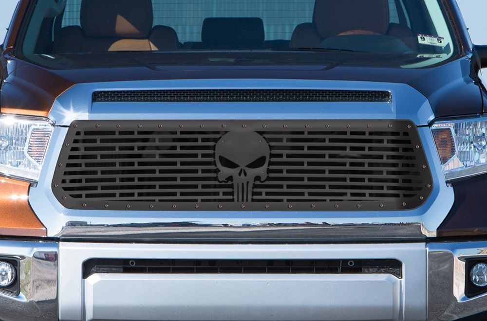 Steel Aftermarket Grille Kit for 2014-17 Toyota Tundra TRD ...