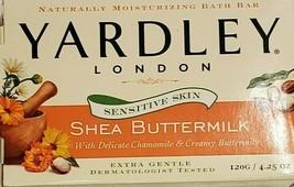 Yardley London 1 Moisturizing Bar Soap Shea Buttermilk 4.25 oz (NEW) - $4.90