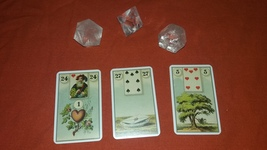 Madame Lenormand Reading With Three Cards. One Question - $13.99
