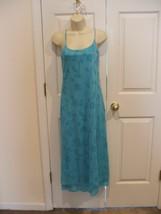New in pkg newport news aqua prom bridesmaid formal ocassion gown dress size -4 - $44.54