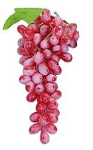 PANDA SUPERSTORE Plastic Beautiful Simulation Model of Red Grapes/Play Toy/Kitch