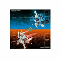 Pokemon card game durable play mat black Kyurem White Kyurem - $38.17