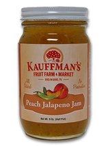 Kauffman's All-Natural Peach Jalapeno Jam, 9 Oz. Jar (Pack of 4 Jars) - $26.69