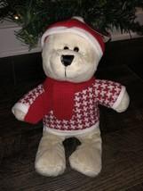 NEW Starbucks Holiday Collection Bearista Boy Bear Plush Limited Edition - $25.73