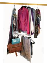 The Adjustable Closet Rod Hanger - Doubles Closet Rod Space - $29.95