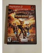 Ratchet Deadlocked - (Sony Playstation 2, 2005) ~ Adventure Game ~ TESTED - $9.20