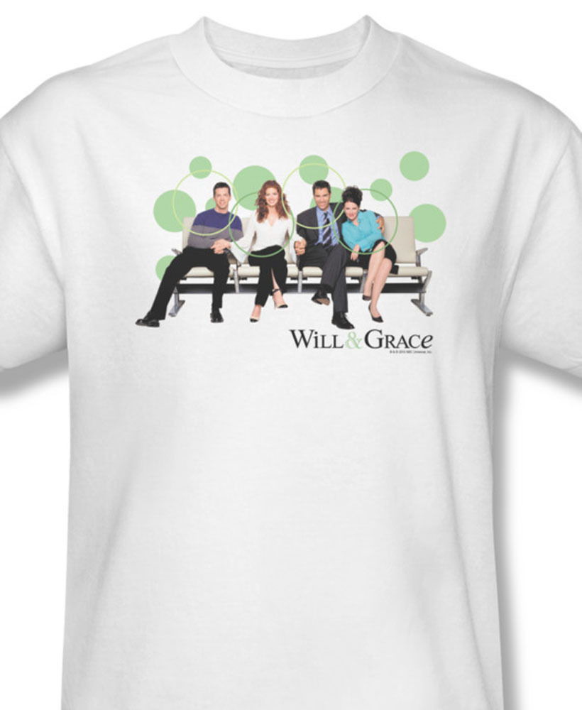 Will   grace american sitcom ny debra messing for sale online white graphic teenbc239 at