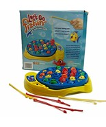 Let's Go Fishing Game Kids Preschool Catch Fish Motorized Action Complet... - $6.92