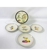 Boston Warehouse Martini Plates 2003 set 4 Susanne Riette dessert porcel... - $57.77