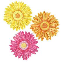 Wallies 12021 Gerber Daisies Wallpaper Cutout - $17.99