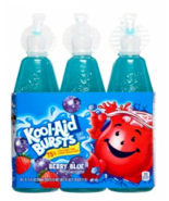 Kool Aid Bursts Berry Blue Fruit Juice Drink Kids Low Sugar 6.75 fl oz -... - $15.45