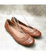 Relativity Womens  AGS13-10 Sz 8.5 M Brown  Slip On Ballet Flats - $24.99