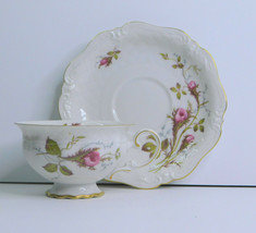 Royal Heidelberg Rose Brier Winterling Germany Cup And Saucer - $14.01