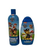 Nickelodeon Paw Patrol Bath Set Full Size Bubble Bath and 2in1 Shampoo - $6.58