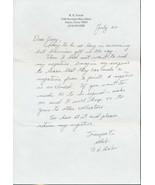 "Ronert ""Bob""  Galer signed letter.. WWII Ace.Cmdr VMF-224.CMOH winner. 13 kills. - $13.27 CAD"