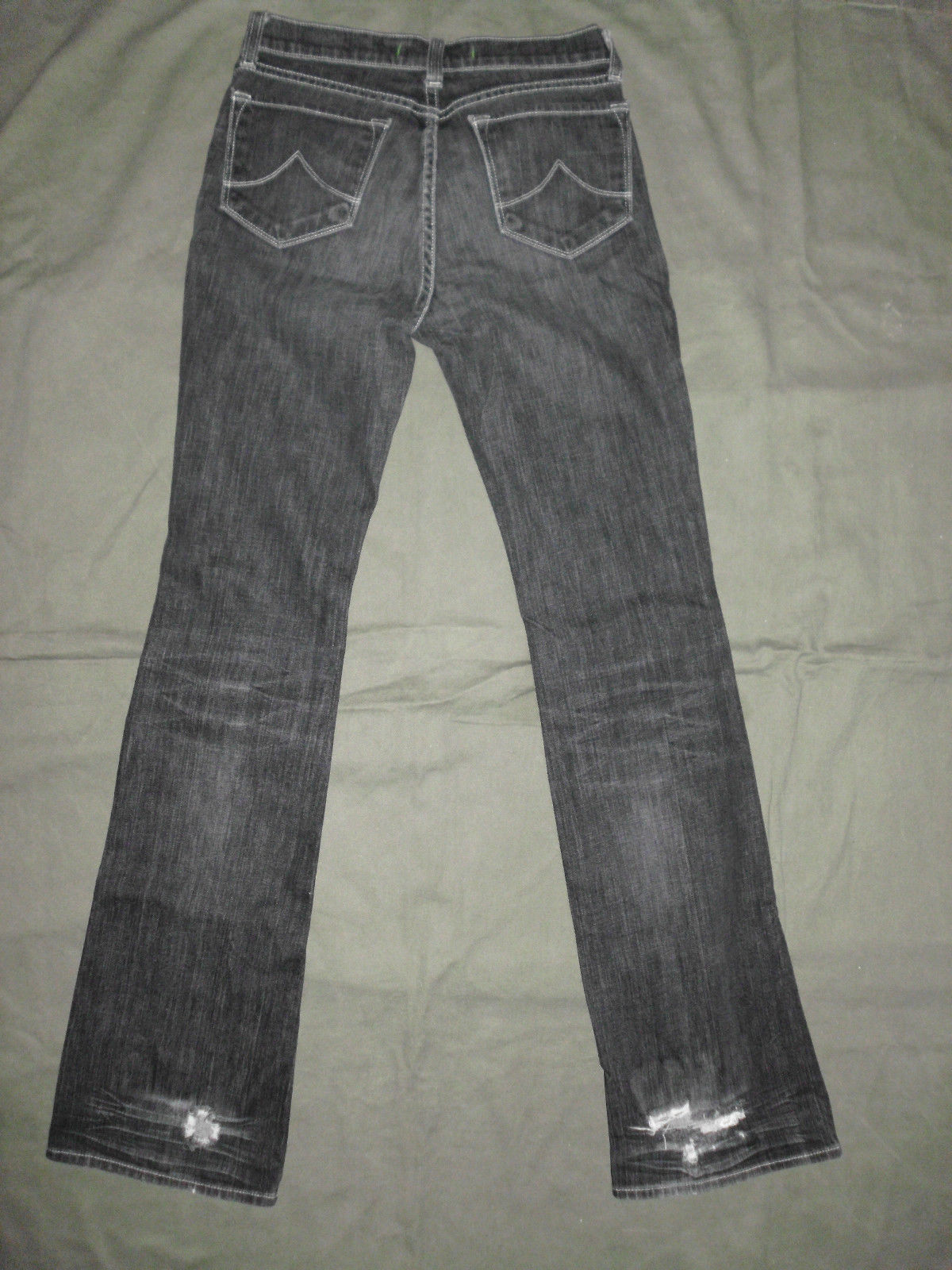J Brand 118 BootCut Womens Jeans Size 26 Black image 12