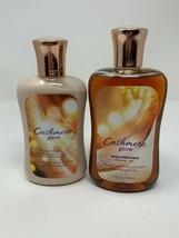 Bath & Body Works Cashmere Glow Body Lotion + Shower Gel Duo Set 10 oz New - $22.76